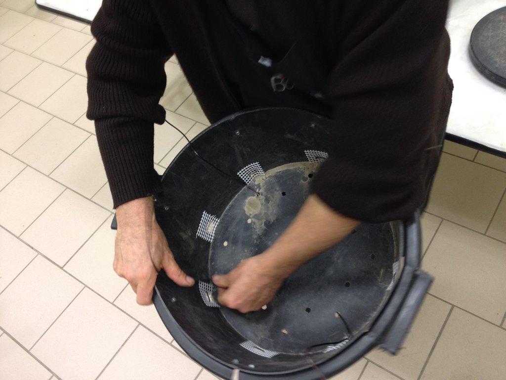 préparation du pot
