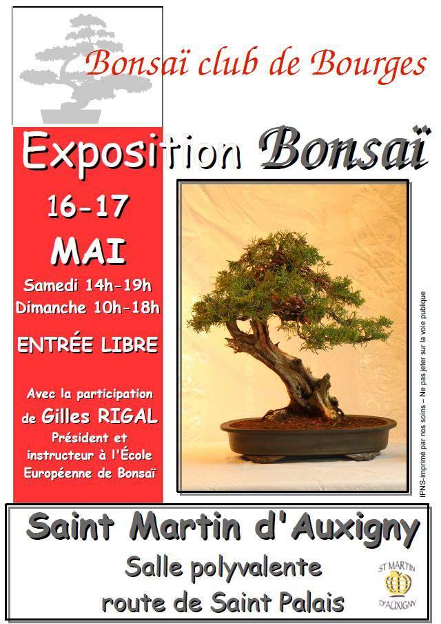 exposition le 16-17 MAI